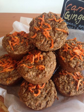 Vashon, Ουάσιγκτον: GF Organic Carrot Spice Muffisn