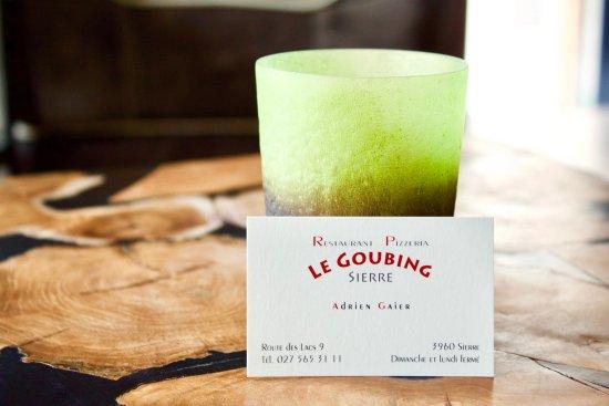 Restaurant Le Goubing Carte De Visite