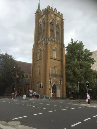 St. David's Cathedral: From Across The Street