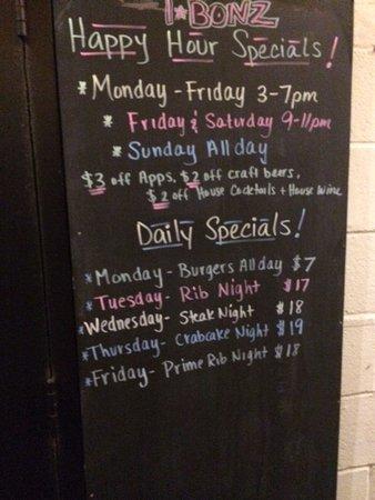Ellicott City, Мэриленд: Happy Hour Specials