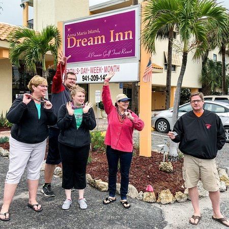 Anna Maria Island Dream Inn : From our stay Dec 2017