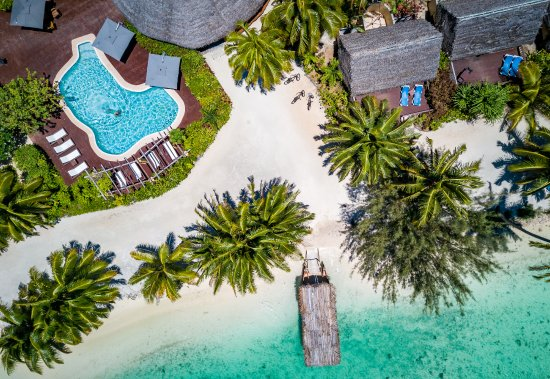 Aitutaki Lagoon Resort & Spa: Aerial View