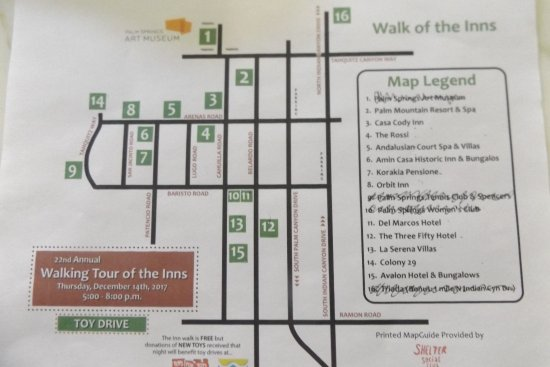 Del Marcos Hotel: One of the Walk of the INNS Christmas Tour