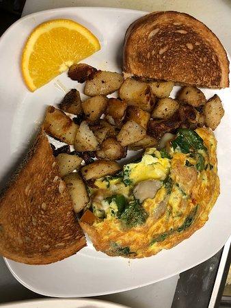 Ballston Spa, نيويورك: Breakfast 