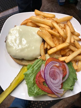 Ballston Spa, NY: Hamburger