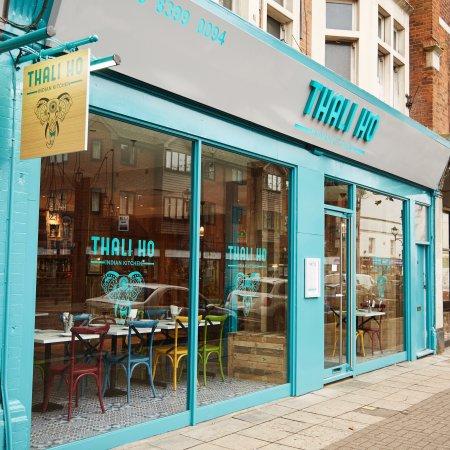 Surbiton, UK: Thali Ho - Indian Kitchen
