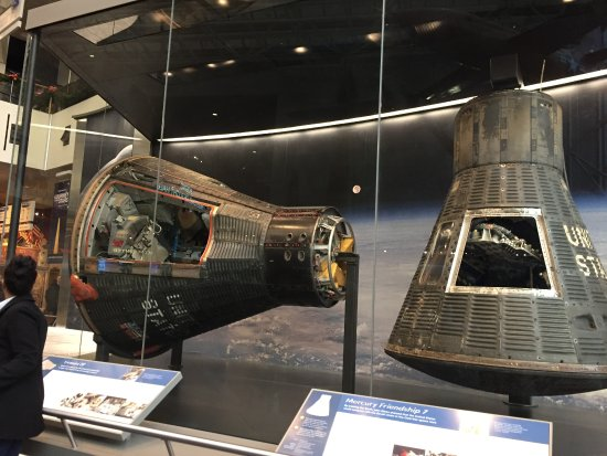 Chantilly, VA: One of the displays in the 'space' section