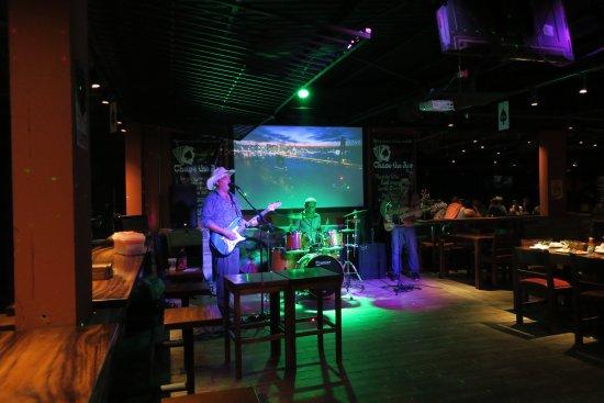Playa Potrero, Costa Rica: The Friday night entertainment