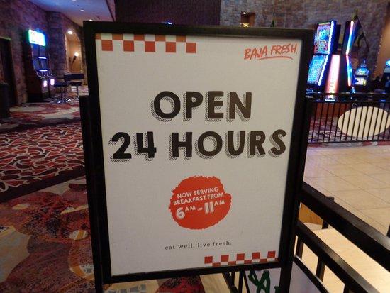 Baja Fresh Hours >> Open 24 7 Picture Of Baja Fresh Las Vegas Tripadvisor