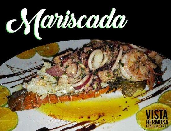 Playa Hermosa, Costa Rica: Langosta fresca preparada a su gusto!