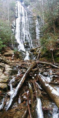 Mingo Falls in December