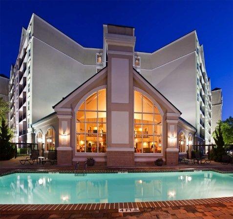 Pool Billede Af Homewood Suites By Hilton Raleigh Durham Ap Research Triangle Durham