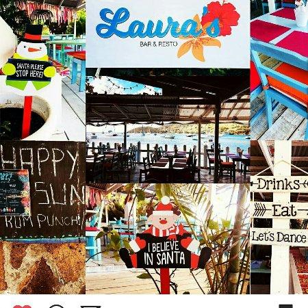 Belmont, Bequia: Ambientacion de Laura's