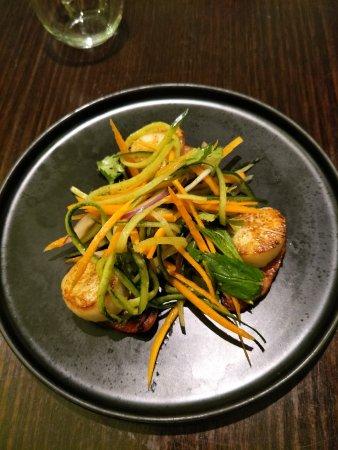 Rooty Hill, Australië: seared scallops and chorizo