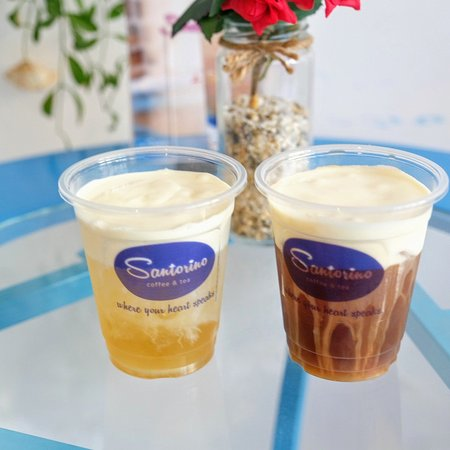 Quy Nhon, Vietnam: Santorino Coffee & Tea