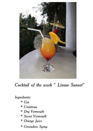 "Pearl Restaurant at Linaw Beach Resort: ""LINAW SUNSET"""