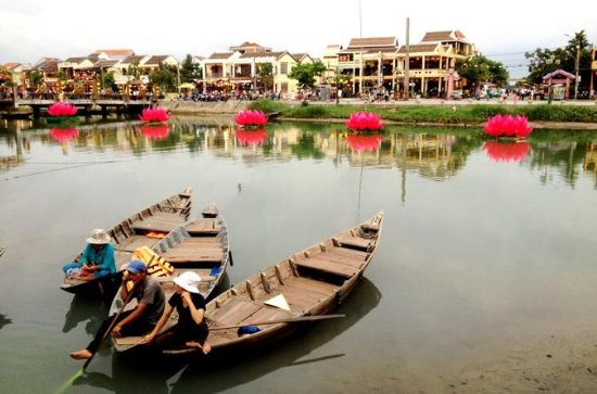 Hoi An Old Town Food Tour om natten