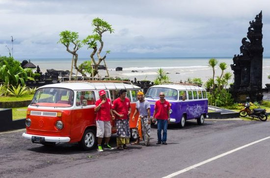 Bali Beach and Bar Hopping Tour by Custom VW Bus