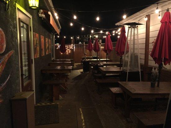 Lambertville, Nueva Jersey: Outdoor seating