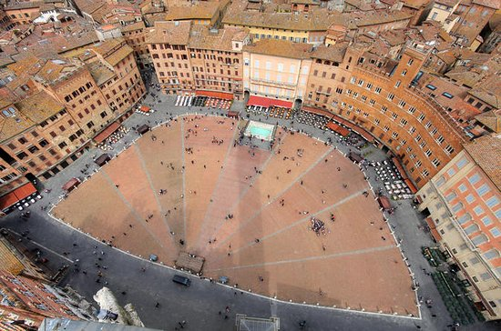 Dagstur til Siena og San Gimignano med...