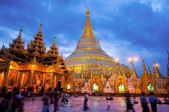 Privé Yangon demi-journée en voiture...
