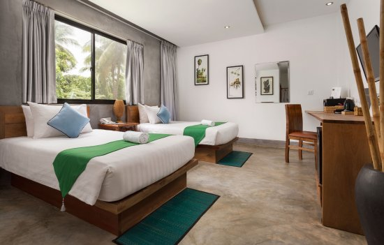Mudra Angkor Boutique Hotel: Our Twin Room