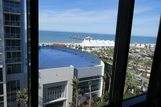 view from room pier house 60 clearwater beach. Black Bedroom Furniture Sets. Home Design Ideas