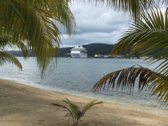 Maya Key : The island was a short boatride from the cruise ship.