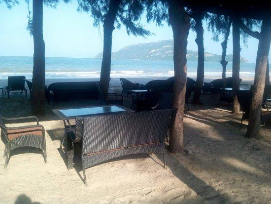 Sam Roi Yot, Tajlandia: Beach view