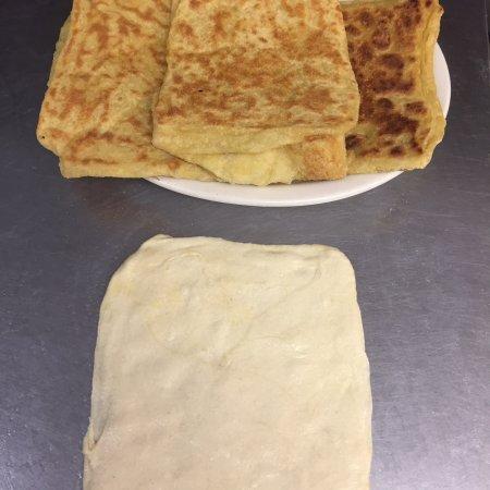Northampton, Μασαχουσέτη: Msemen (Moroccan pancake)