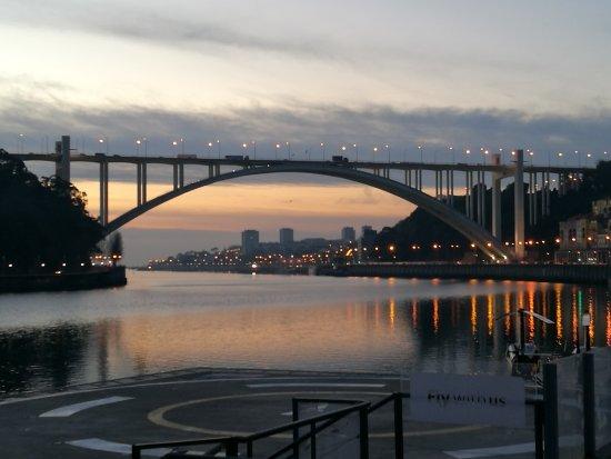 Porto District, Portugal: Abenddämmerung