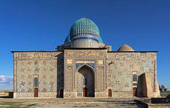Turkestan, Kazakhstan: View from Eastern Side