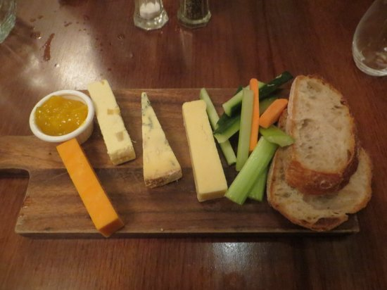 "Bar Hill, UK: Cheese and ""biscuits"""