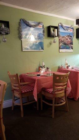Cullompton, UK: Robert's Pizza & Pasta