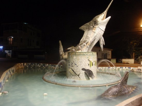 Swordfish Fountain