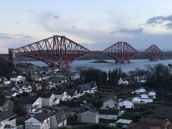 North Queensferry, UK: view