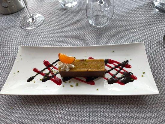 L'instant : Gâteau mandarine chocolat pistache : excellent !