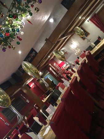 Guisborough, UK: Fantastic restaurant for party tables