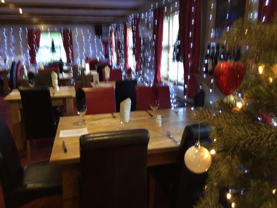 Guisborough, UK: Christmas at Tocketts Mill Restaurant