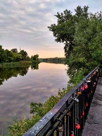 Belaya Kalitva, Russia: Вид на реку