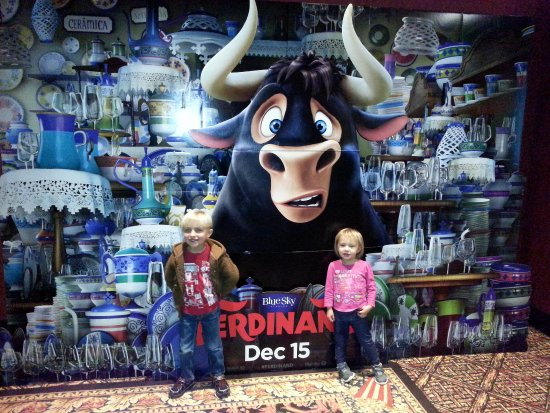 "Rosemont, IL: Opening day for ""Ferdinand"""