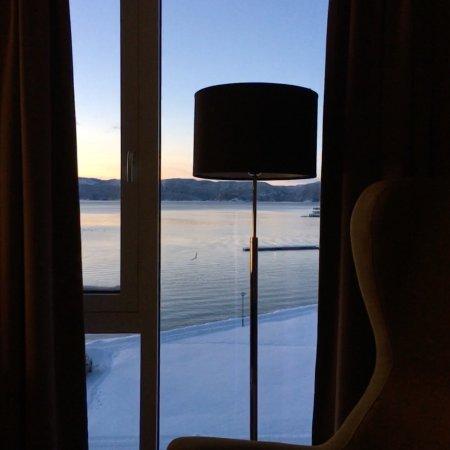 Namsos, Norway: Utsikten fra rommet