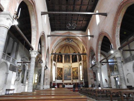 Chiesa della Madonna dell'Orto: Interno