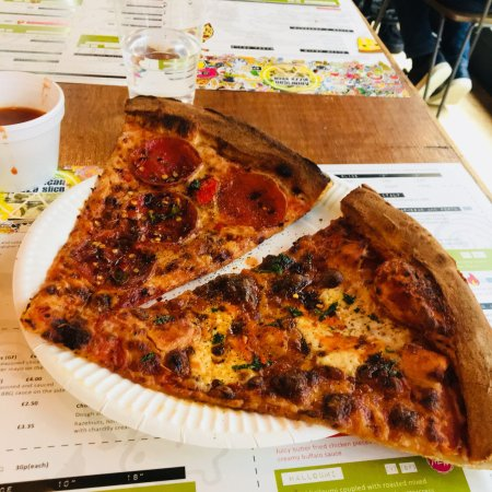American Pizza Slice Bold Street Liverpool Photos