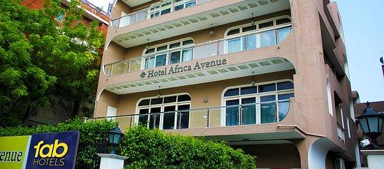 Hotel Africa Avenue: Facade