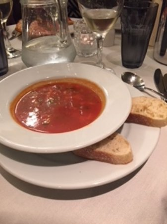 Stourbridge, UK: minestrone soup