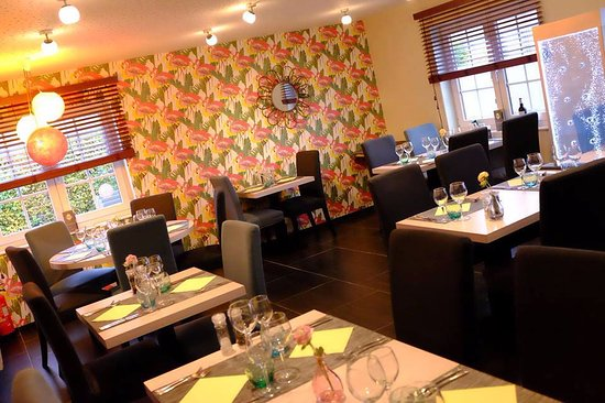 Natoye, Bélgica: Salle du restaurant