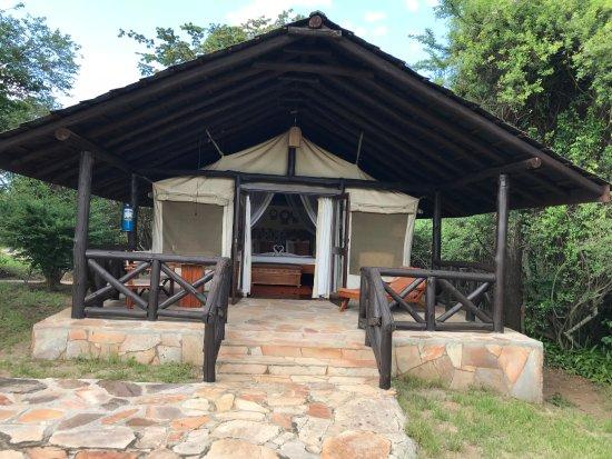Sarova Mara Game Camp: Our tent