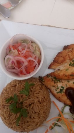 6 Degrees South Grill And Wine Bar Zanzibar Pilau And Chicken