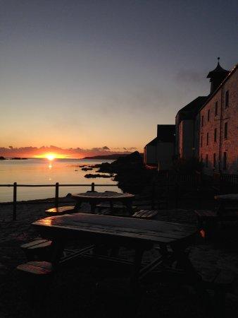 Port Ellen, UK: A tour at sunset.